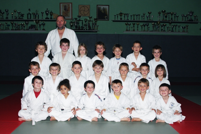 Les pré-judo à Sainte Luce