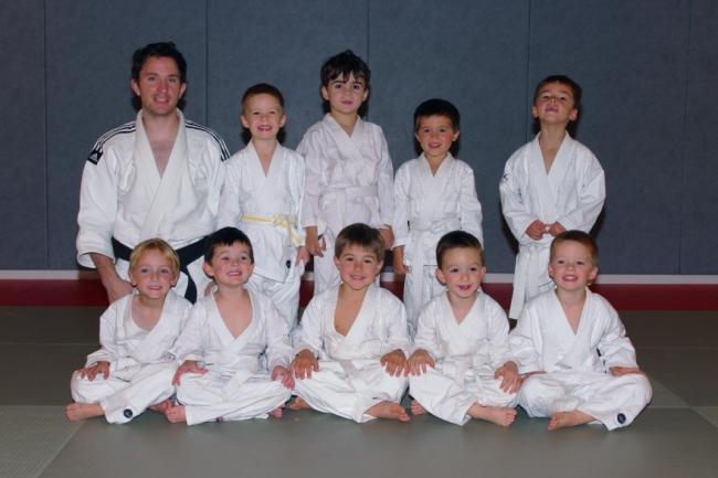 Les pré-judo à Thouaré