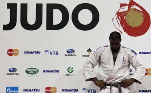 Teddy Riner aux championnats du monde de Tokyo 2010